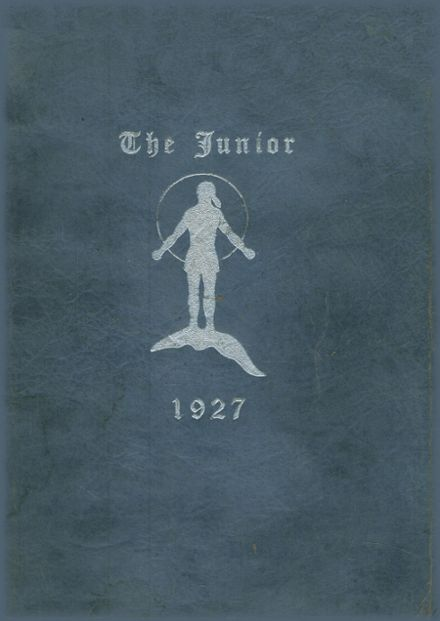 1927 Rice Lake High School Yearbook Page 1