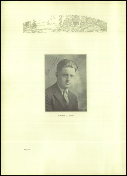 1927 Rice Lake High School Yearbook Page 6