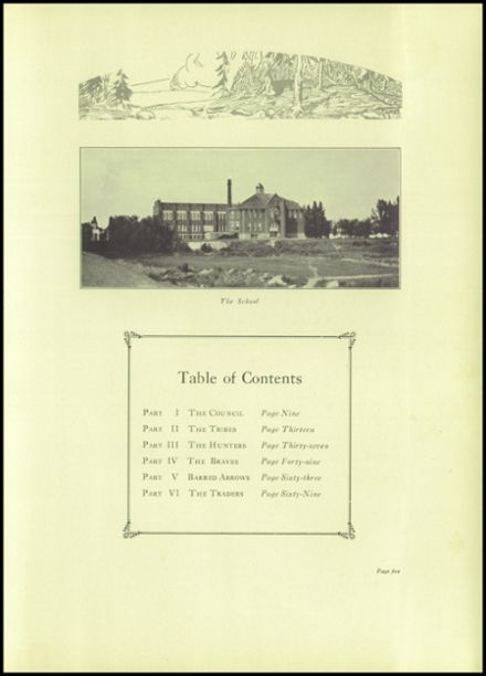 1927 Rice Lake High School Yearbook Page 9