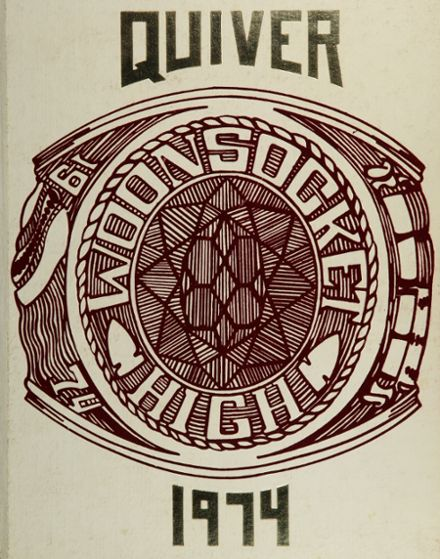 1974 Woonsocket High School Yearbook Cover