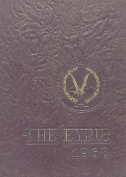 1968 Staunton River High School Yearbook Cover