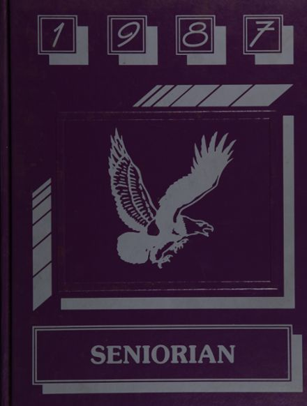 1987 Groveton High School Yearbook Cover
