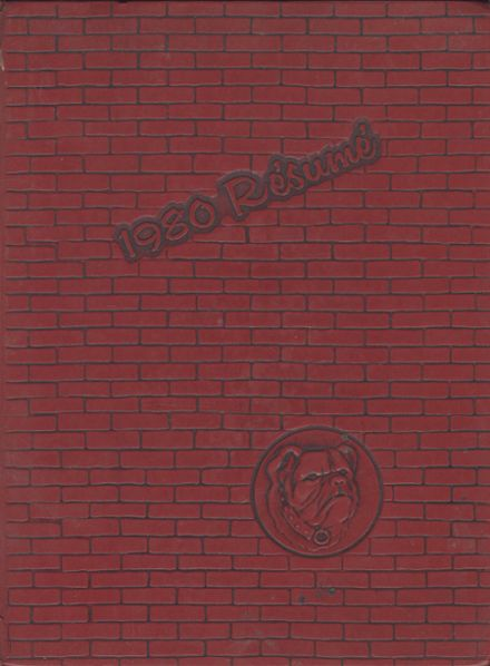 1980 Central High School Yearbook Cover