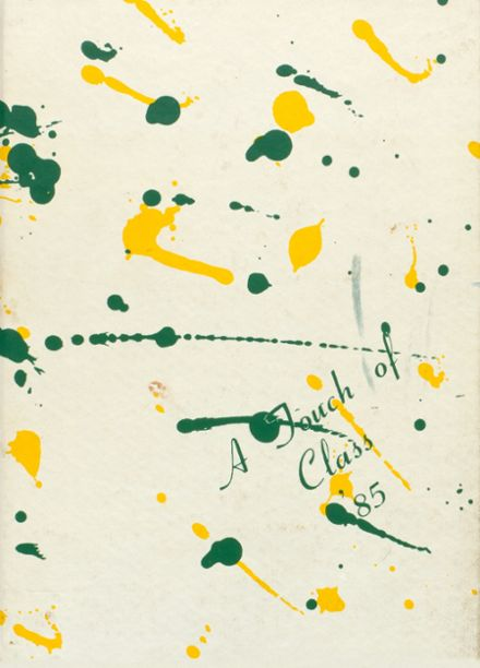 1985 Shenandoah High School Yearbook Cover
