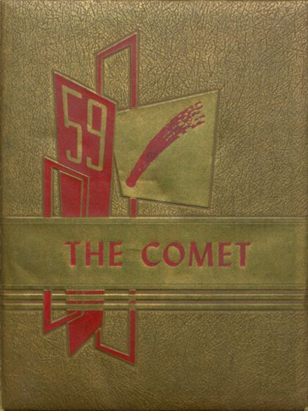 1959 Carlisle County High School Yearbook Cover