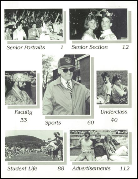 1987 Millville Area High School Yearbook Page 3