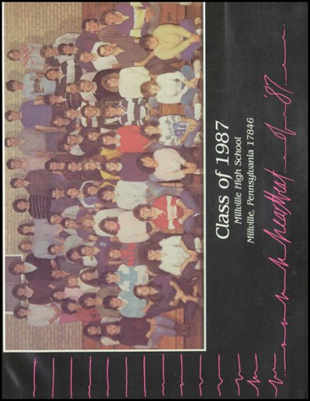 1987 Millville Area High School Yearbook Page 5