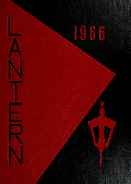 1966 Lasalle High School Yearbook Cover