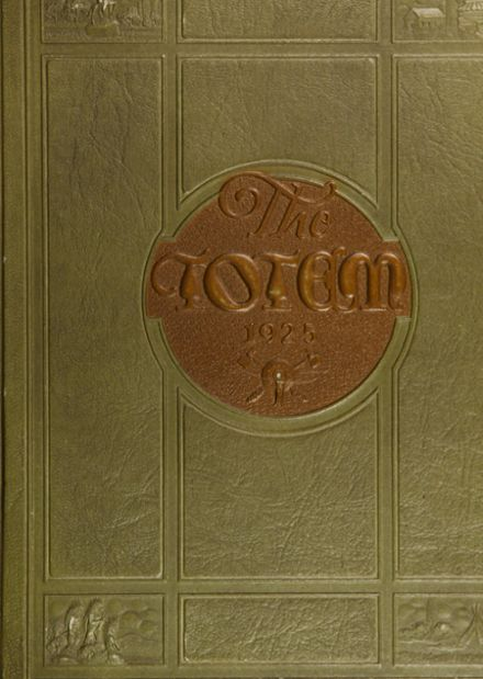 1925 South Side High School Yearbook Cover