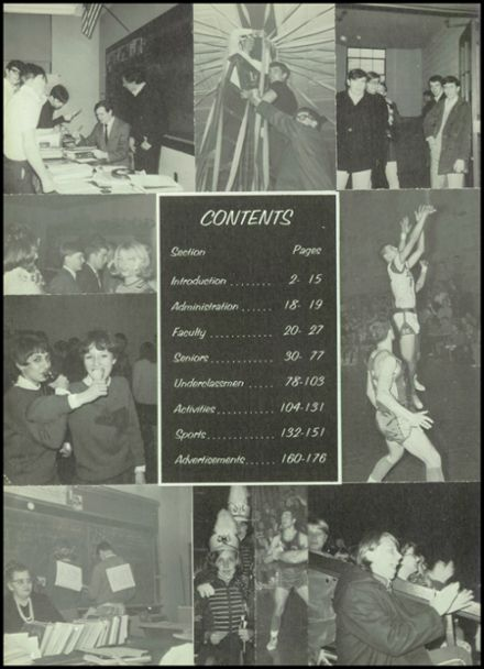 1969 St. Clair High School Yearbook Page 8
