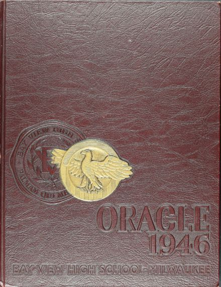 1946 Bay View High School Yearbook Cover