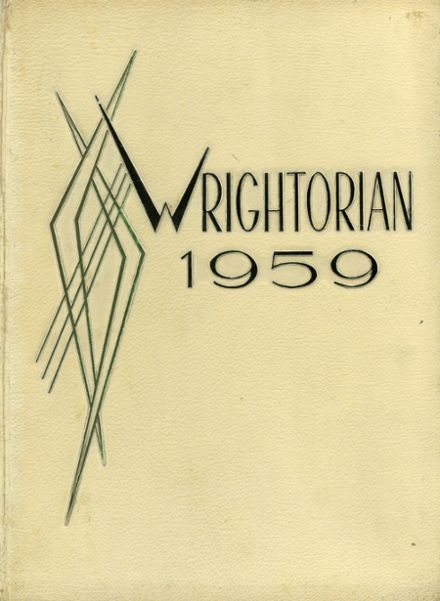 1959 Julius T. Wright School for Girls Yearbook Cover
