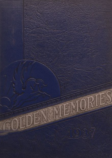 1937 Decatur High School Yearbook Cover