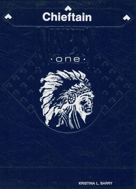 1991 Central High School Yearbook Cover