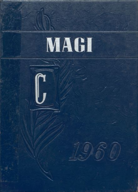1960 Colon High School Yearbook Cover