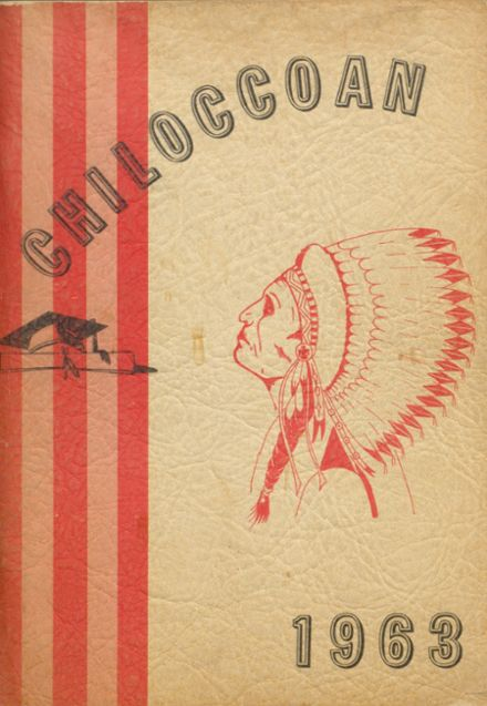 1963 Chilocco Indian School Yearbook Cover