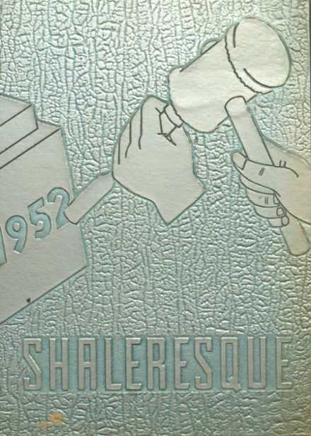 1952 Shaler Area High School Yearbook Cover