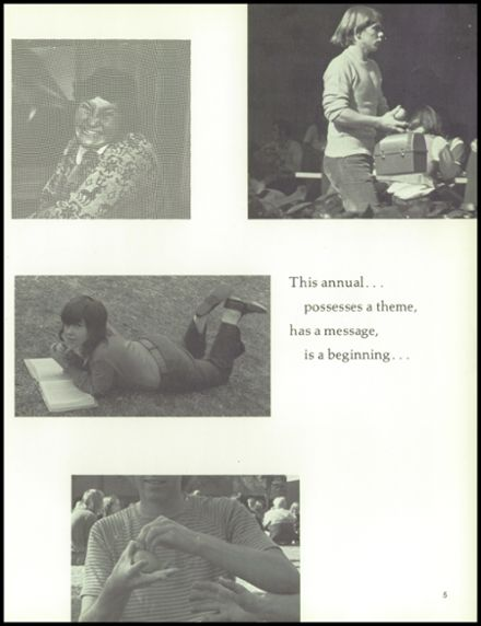 1972 South Pasadena High School Yearbook Page 9