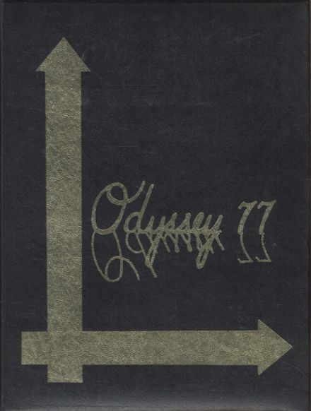 1977 Parkville High School Yearbook Cover