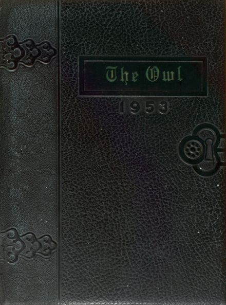 1953 Hale Center High School Yearbook Cover