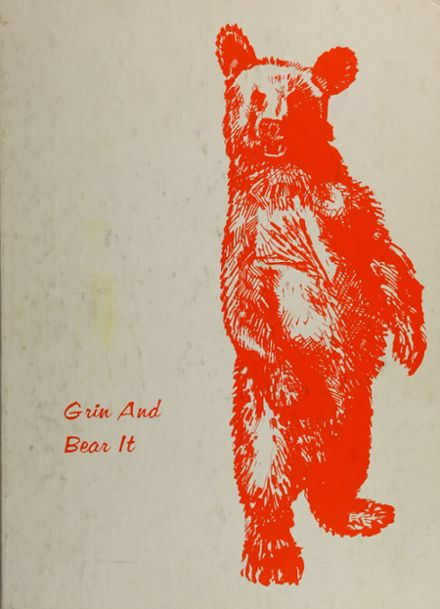 1975 California High School Yearbook Cover