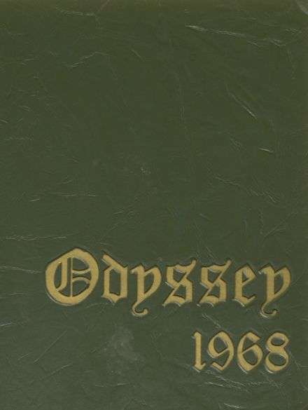 1968 Mayo High School Yearbook Cover