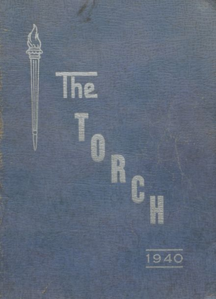 1940 Attica High School Yearbook Cover