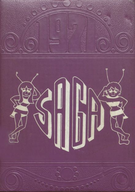 1971 Cadott High School Yearbook Cover