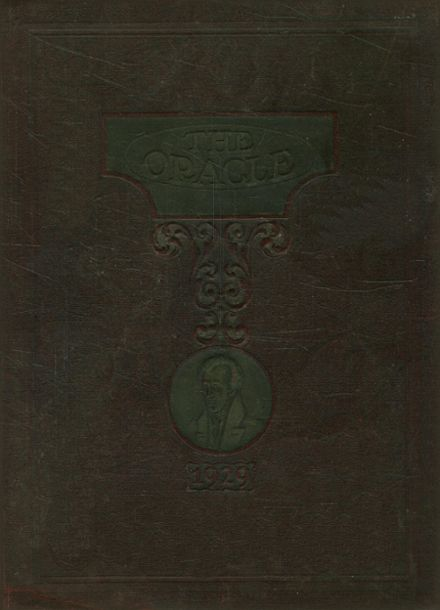 1929 Jackson High School Yearbook Cover