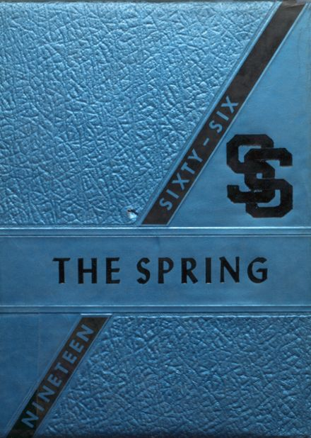 1966 Shady Spring High School Yearbook Cover