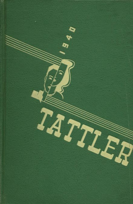 1940 North Division High School Yearbook Cover