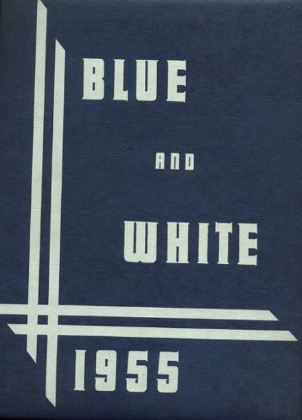 1955 Madera High School Yearbook Cover