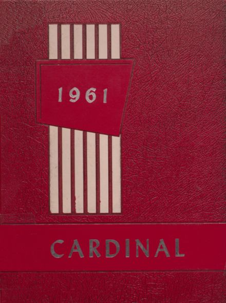 1961 Dollarway High School Yearbook Cover