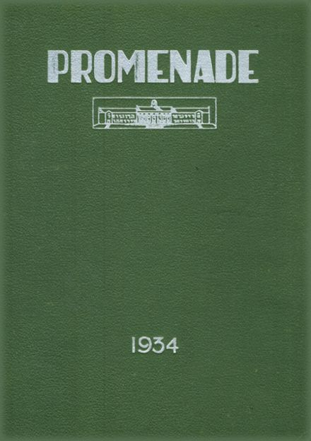 1934 Charles E. Gorton High School Yearbook Cover