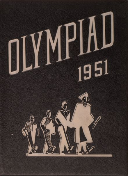 1951 Olympia High School-W.W. Miller High School Yearbook Cover