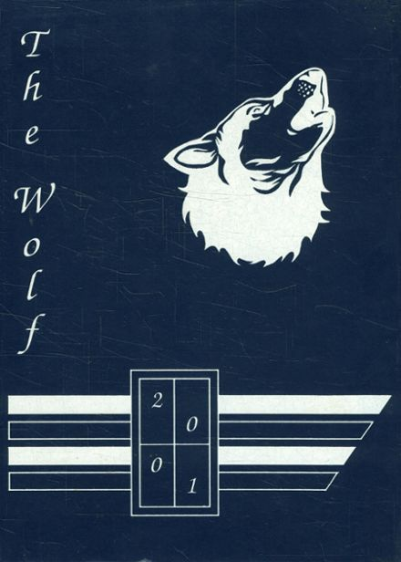 2001 Wolfe City High School Yearbook Cover