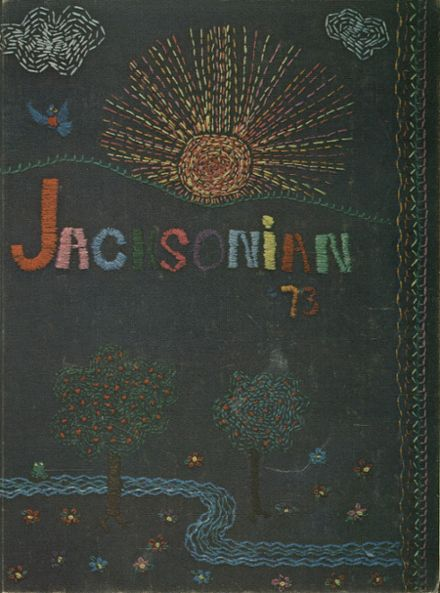 1973 Jackson High School Yearbook Cover