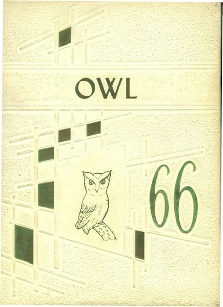 1966 Hale Center High School Yearbook Cover