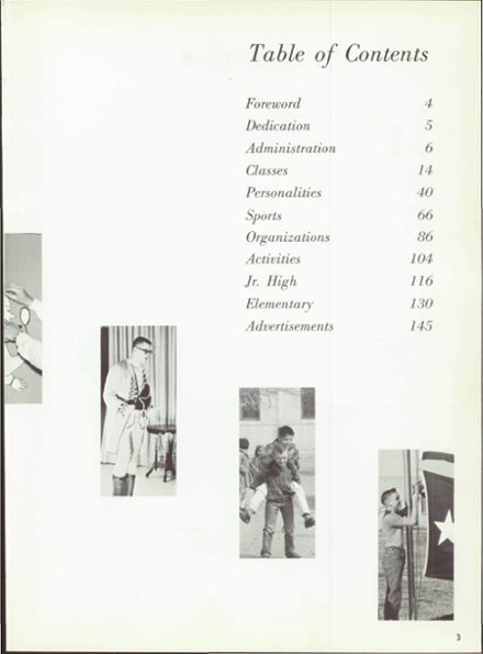 1966 Hale Center High School Yearbook Page 7