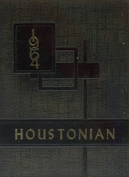 1964 Houston High School Yearbook Cover