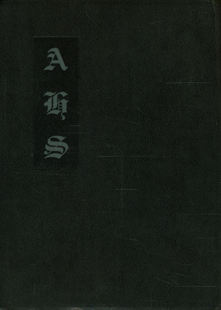 1933 Atherton High School Yearbook Cover