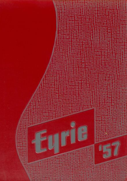 1957 Frankenmuth High School Yearbook Cover