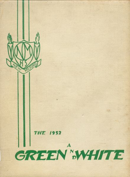 1952 New Milford High School Yearbook Cover