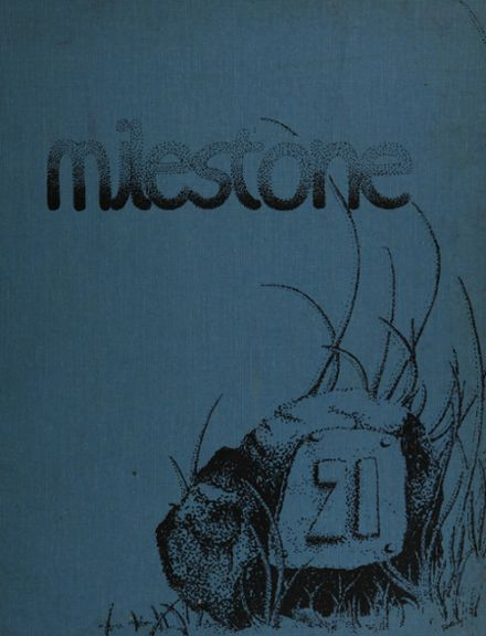 1971 Plainfield High School Yearbook Cover