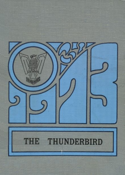 1973 Cross County High School Yearbook Cover