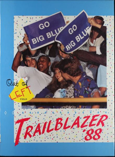 1988 North Mesquite High School Yearbook Cover