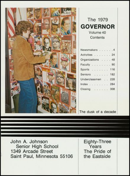 1980 Johnson High School Yearbook Page 5