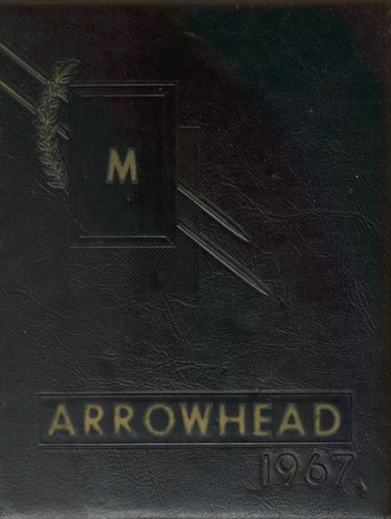 1967 Moweaqua High School Yearbook Cover