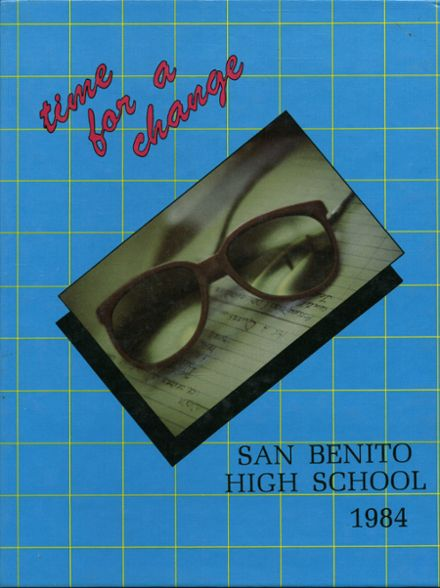 1984 San Benito High School Yearbook Cover