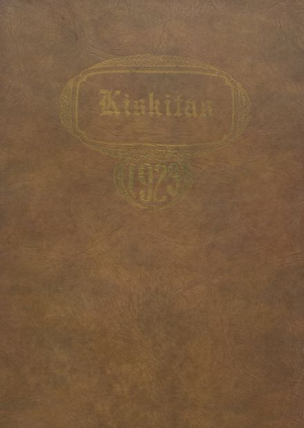 1929 Apollo High School Yearbook Cover